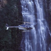 The Cascades Scenic Flight includes breathtaking views of the Lisbon, Berlin and Mac Mac Falls